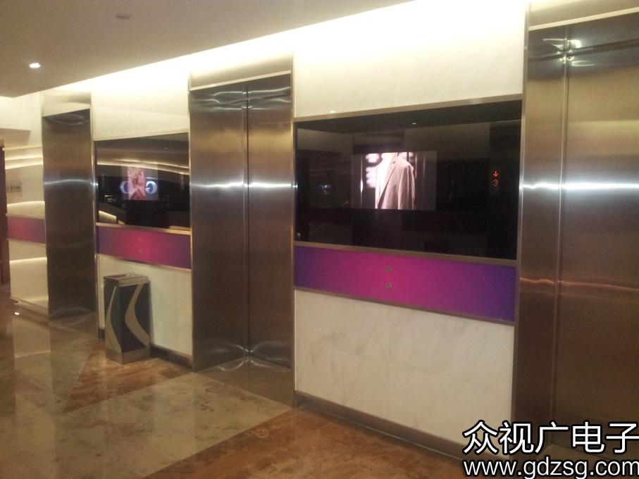 众视广壁挂博猫游戏注册招商机在电梯中的应用