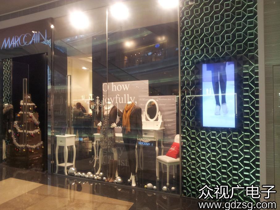 众视广竖式博猫游戏注册招商机在服装店的应用