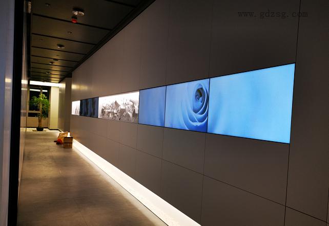 众视广液晶拼接屏在展览馆的应用